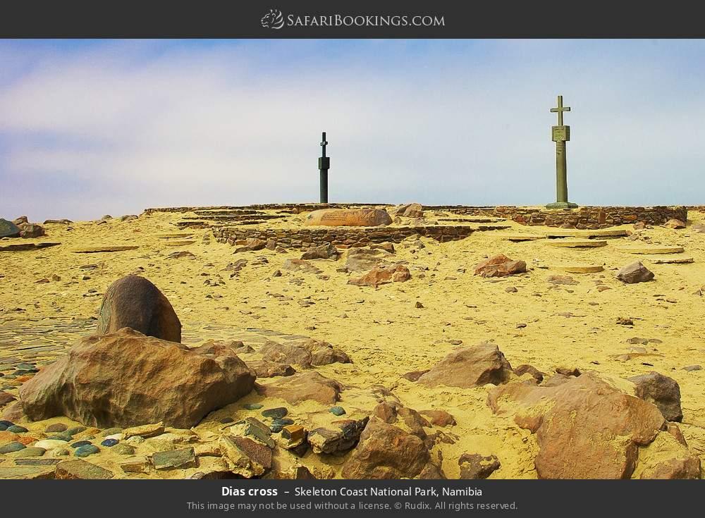 Dias cross in Skeleton Coast National Park, Namibia