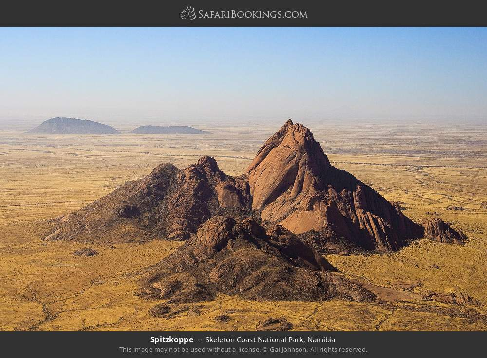 Spitzkoppe Mountain in Skeleton Coast National Park, Namibia