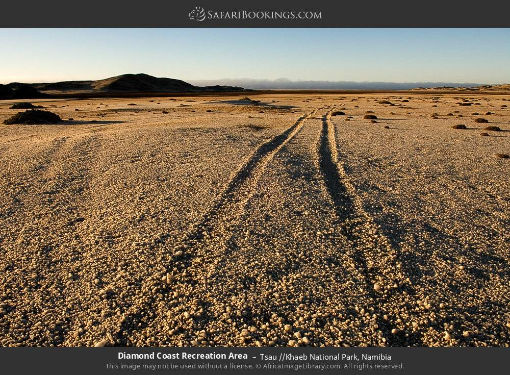 Diamond Coast Recreation Area in Tsau //Khaeb National Park, Namibia