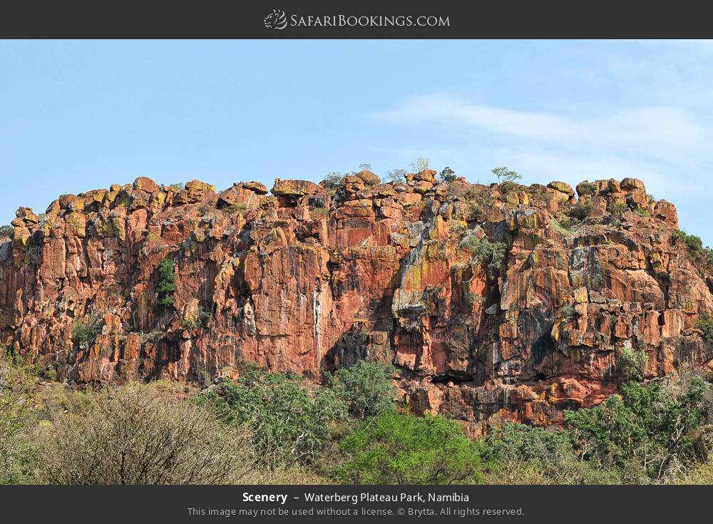 Scenery in Waterberg Plateau Park, Namibia