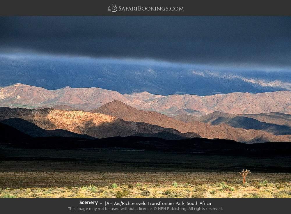 Scenery in |Ai-|Ais Richtersveld Transfrontier Park, South Africa