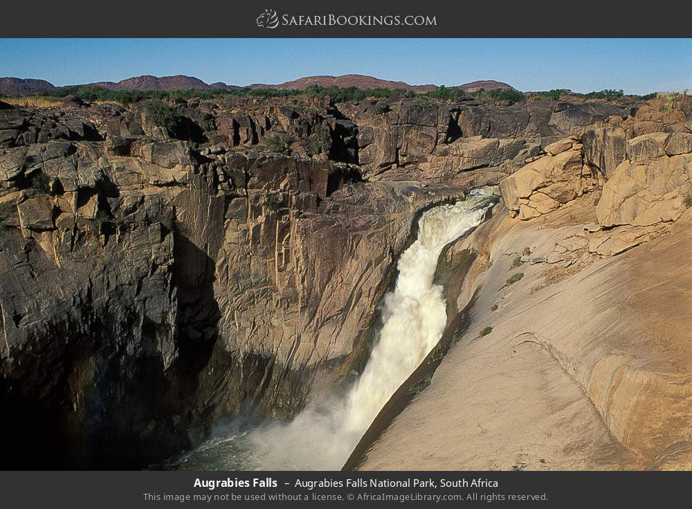 Augrabies Falls in Augrabies Falls National Park, South Africa