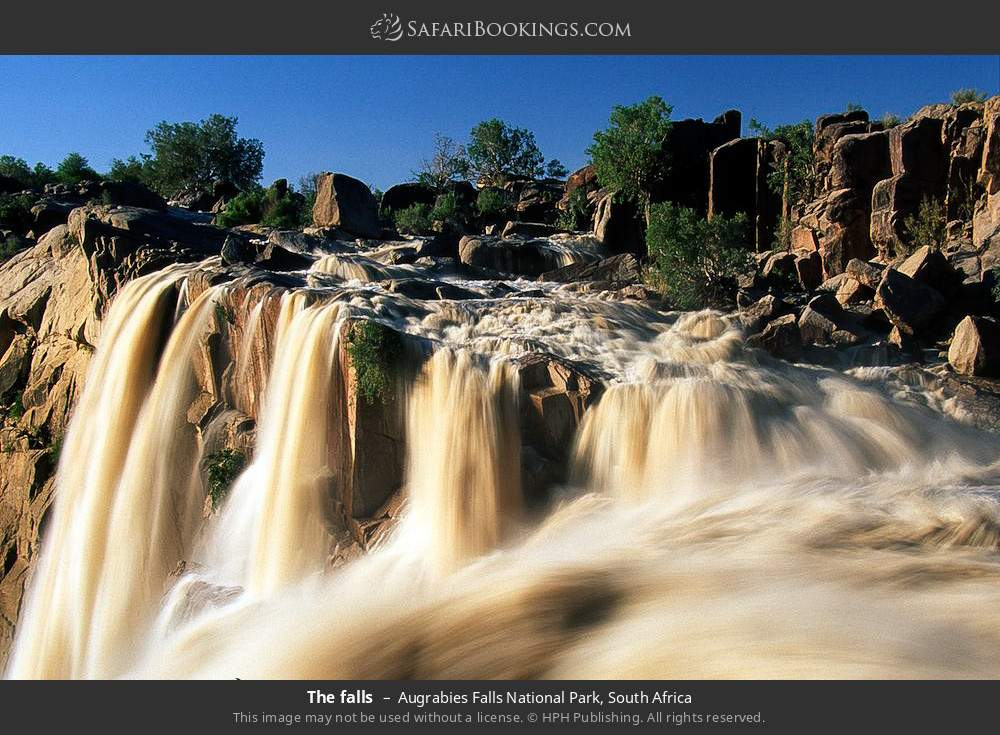 The falls in Augrabies Falls National Park, South Africa