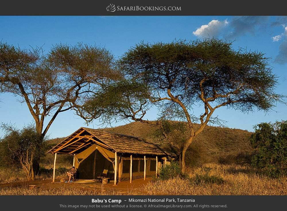 Babu's camp in Mkomazi National Park, Tanzania