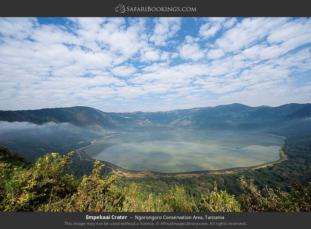 Empekaai Crater in Ngorongoro Conservation Area, Tanzania