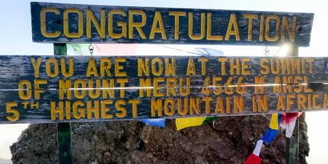 7-Day Climbing Kilimanjaro Trekking Rongai Route