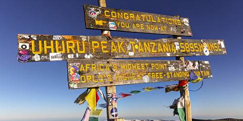 8-Day Marangu Rout Kilimanjaro Trekking-the Hut Trekk