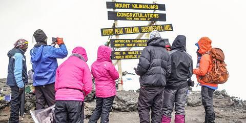Mt Kilimanjaro Climbing via Machame Route
