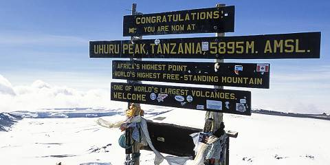 8-Day Kilimanjaro via Marangu Route (6 Days on Trek)