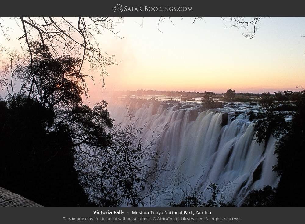Victoria Falls in Mosi-oa-Tunya National Park, Zambia