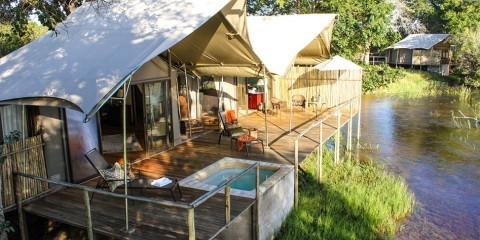 2-Day Zambezi Sands River Camp