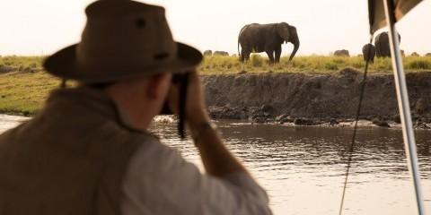 7-Day Chobe Cruise + Okavango Delta Heli Luxventure®