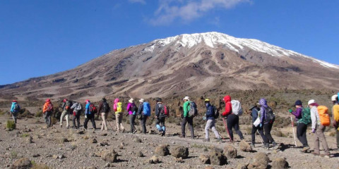 6-Day Kilimanjaro Climb -Marangu Route