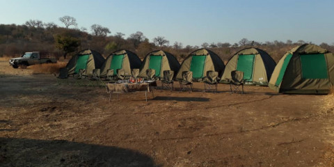 3-Day Chobe National Park Camping Tour from Vic Falls