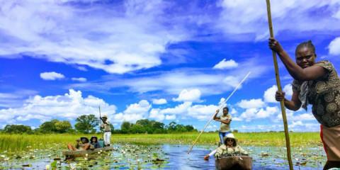 3-Day Mokoro Camping Safari – Boro Island Adventure