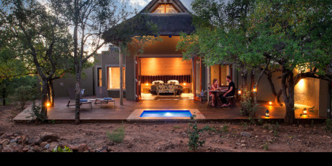 4-Day Lush Private Lodge - Romantic Safari in Pilansberg