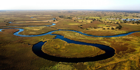 6-Day Okavango Delta + Chobe + Victoria Falls Visit