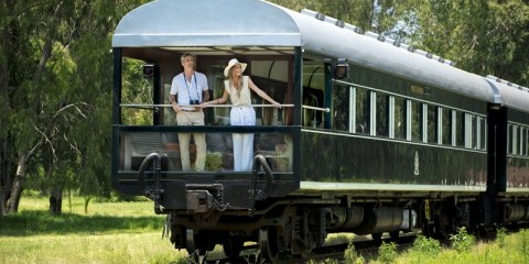 4-Day Victoria Falls Journey by Train