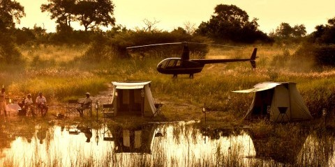 7-Day Botswana Fly Camping + Canoe Luxventure®