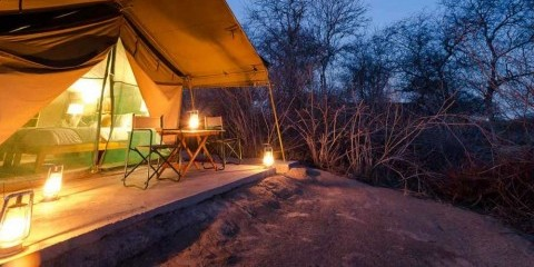5-Day Budget Bush Camp and Okavango Delta Safari