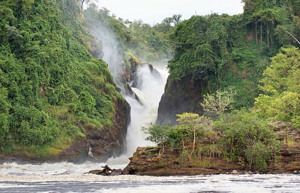 Murchison Falls in Murchison Falls National Park, Uganda