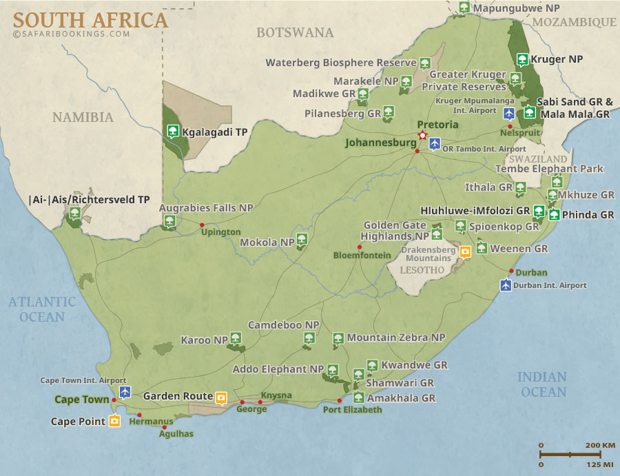 south africa map game