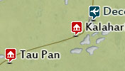 Click to view the map of Central Kalahari Game Reserve