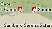 Click to view the map of Samburu National Reserve