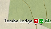 Click to view the map of Tembe Elephant Park