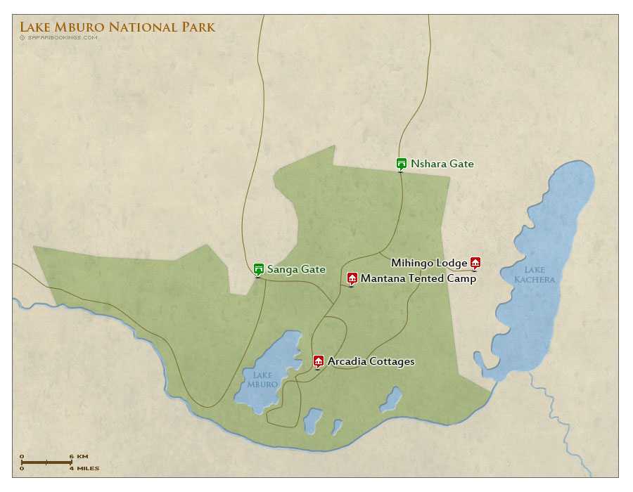 how to get to lake mburo national park