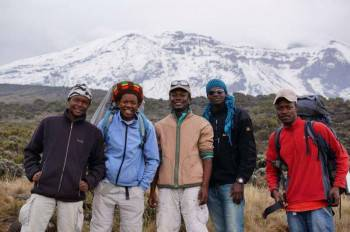 We are aparoud of our Kilimanjaro Guides