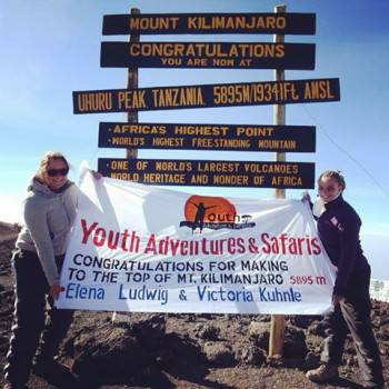 Amazing climb to the Roof of Africa with YAS