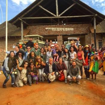 happy clients  with spotkenyasafaris in mara
