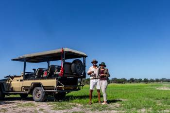 JDA Founders Patrick & Victoria Shah on safari
