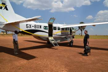 Fly in Safaris with Africa Adventure Vacations