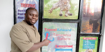 Edward Kahambe - Founder of TravelEdward