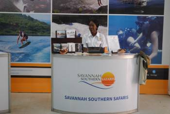 Savannah Southern Safaris at Trade Show in Lusaka