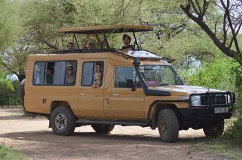 On Safari with E-Trip Africa
