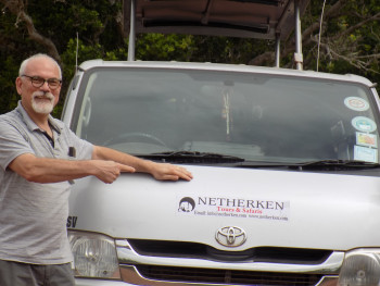 Ton, one of the owners of Netherken Safaris&Tours
