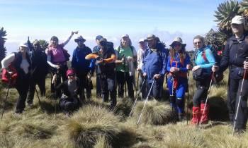 Bujo Tours Guides leading to Kilimanjaro Peak