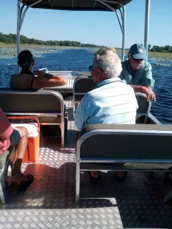 Boat cruise along the Chobe river