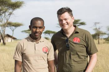 Hilary and Martin - owners of Suricata Safaris