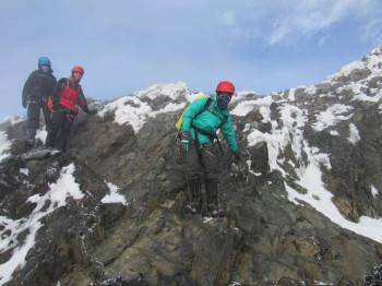 Our team adventuring Rwenzori Mountain.