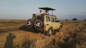 Our Clients on Safari with us