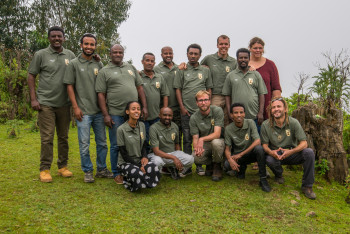 Photo of our staff during annual training session