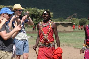 A vist to Masai Village