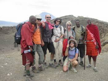 Rift Valley trek in wilderness Masai land Tanzania