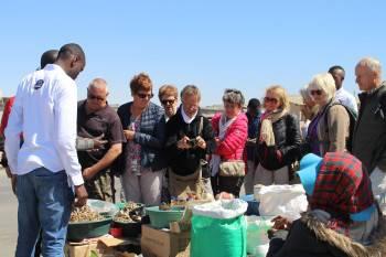 Township Cultural Tour in Swakopmund Open  Market