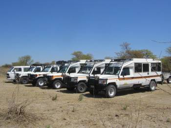Part of the fleet, 3 were on safari, will add soon