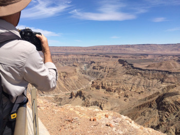 Magnificent view of the Fish River Canyon!!!